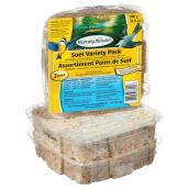 Pack of 3 Suet Cakes for Wild Birds