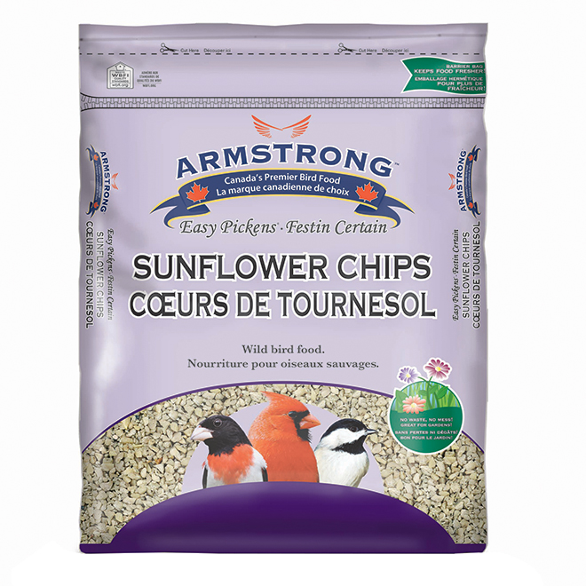"""Sunflower Chips"" Bird Seeds - 9 kg"