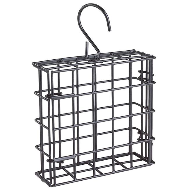 Suet Cage - Metal - 90 gr - Black