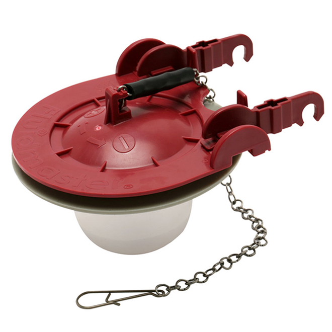 "Water-Saving Adjustable Toilet Flapper - 3"""
