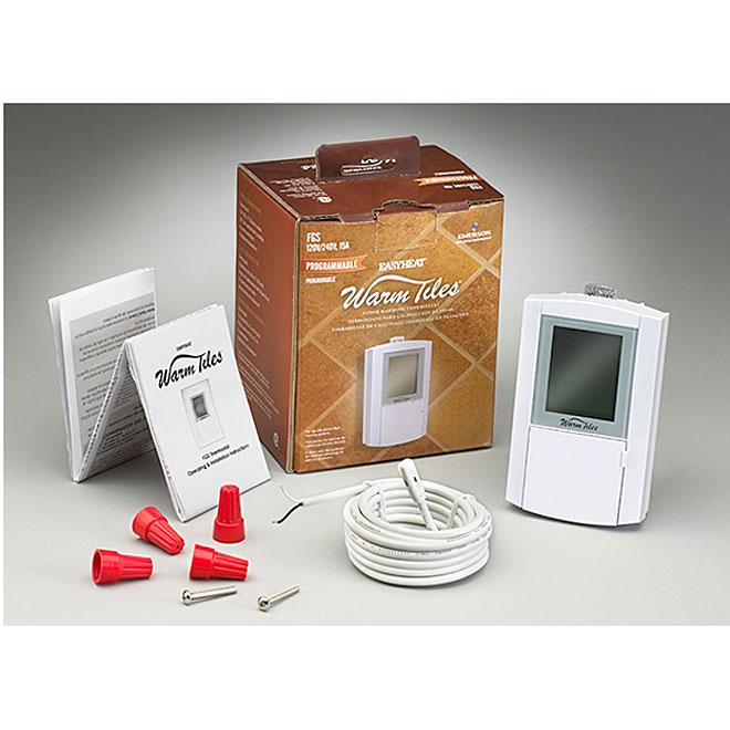 Thermostat - Warm Tiles Floor Warming Thermostat - 120-240 V