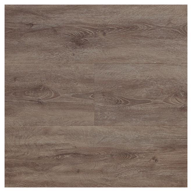 Plancher de composite/PVC, 15,3 pi², chêne rustique