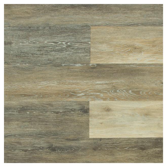 Flooring Tiles - Composite/PVC - 15.3 sq. ft. - Storm Grey