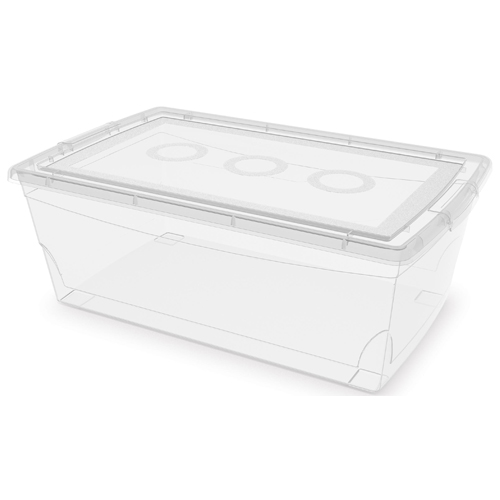 Storage box - Clear Plastic - 9L