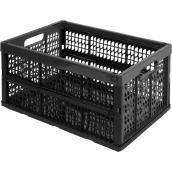 Kis Mesh Storage Basket - Plastic - 32-Litre - Black