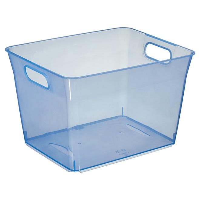 Storage Basket - Plastic - 11.5 L - Blue