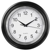 Wall Clock - Aster - White/Black - 10""