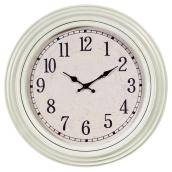 Wall Clock - Emmerson - Ivory - 20""