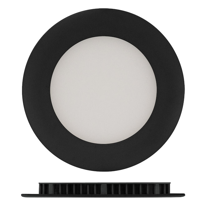 "LED Recessed Light - TRENZ - 9 W - 4"" - Black"