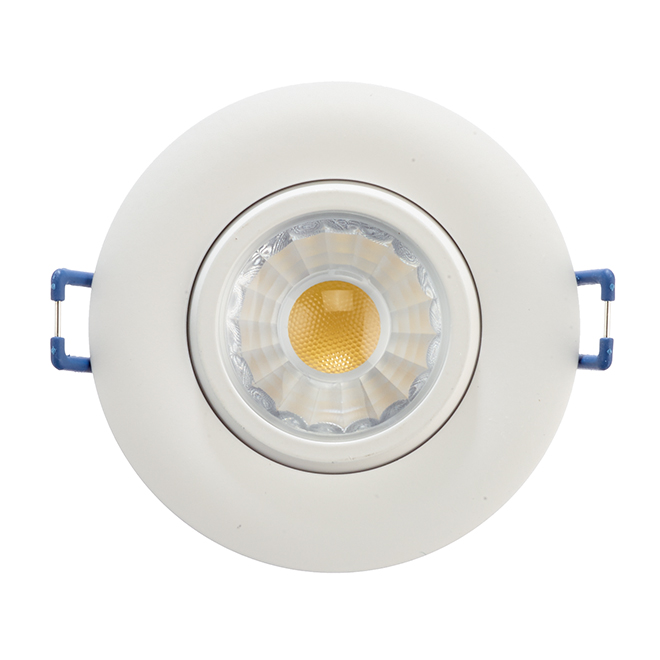 "LED Recessed Light - TRENZ - 7.5 W - 3"" - White"