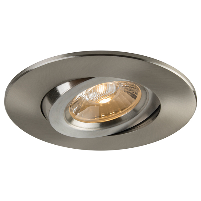 """Retina Dimmable LED Recessed Light - 4"""" - Brushed Nickel"""