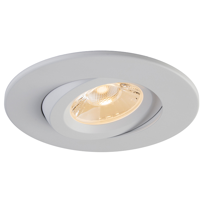 """Retina Dimmable LED Recessed Light - 4"""" - White"""