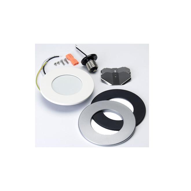 Lumière encastrée DEL multifonction 8W, blanc froid