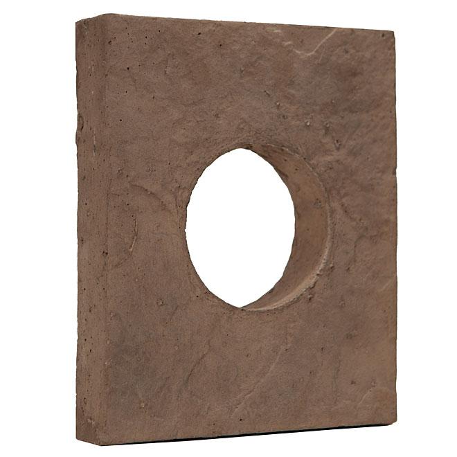 Stone Siding - Round Box - Cocoa