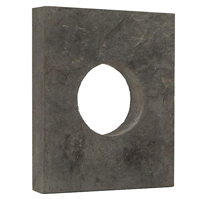 Stone Siding - Round Box - Ash