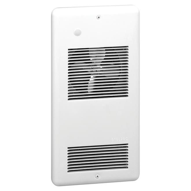 Aéroconvecteur mural Stelpro, 40 pi³/min, 1000 W/240 V, blanc