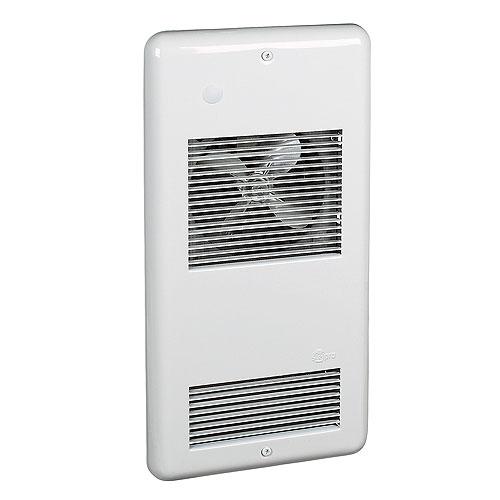 Wall Fan Heater - 1000 W/120 V - 40 CFM - White