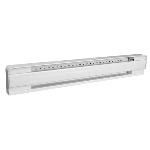 """Baseboard Heater with Thermostat - 500 W - 28"""" - White"""