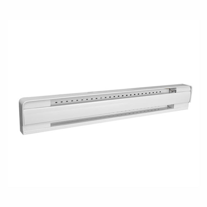 """Baseboard Heater with Thermostat - 1500 W - 66"""" - White"""