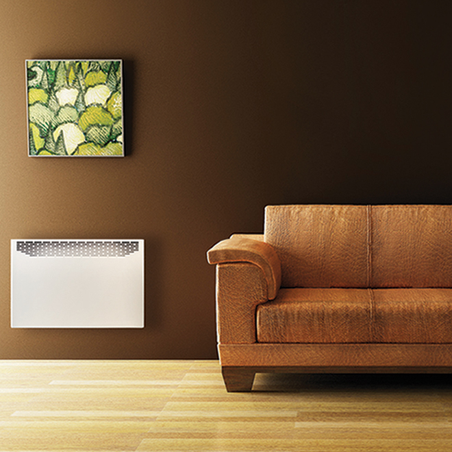 """Convector Without Thermostat - 1500 W - 29"""" - Steel - White"""