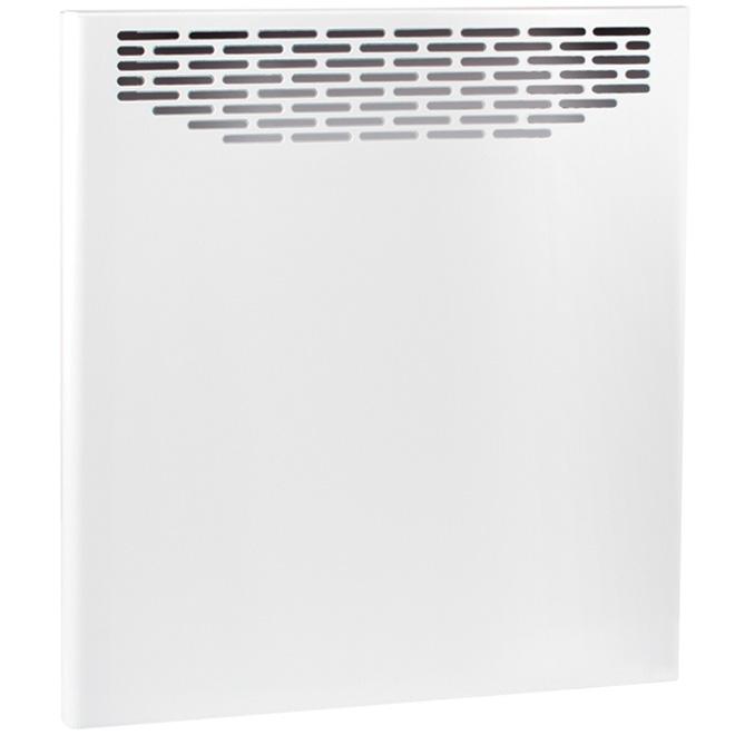 """Convecteur sans thermostat, 2000 W, 35"""", acier, blanc"""