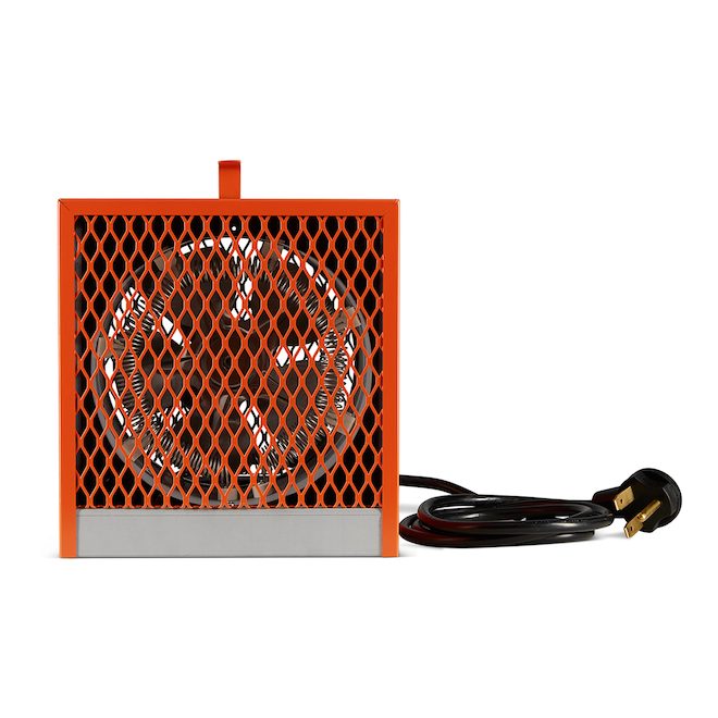 Uniwatt Portable Heater - 16,382 BTU - 240 V - Orange