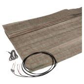 Tapis de câble chauffant Persia(MC), 12'x 10'