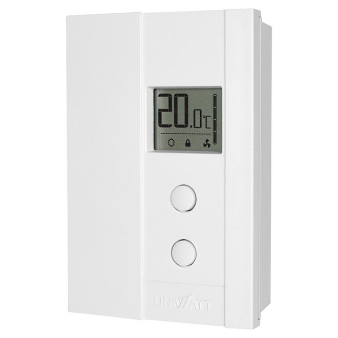 Uniwatt Non Programmable Electronic Thermostat 2000w