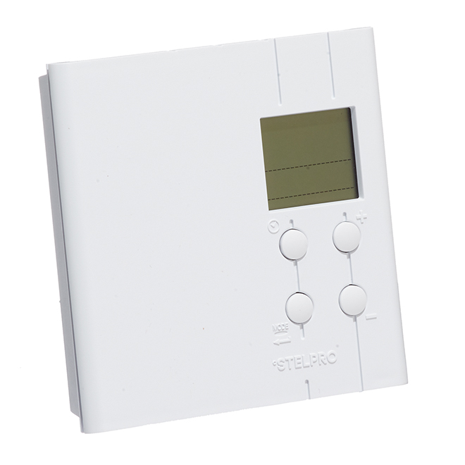 Multiple Programming Thermostat - 3000 W - 240 V - White