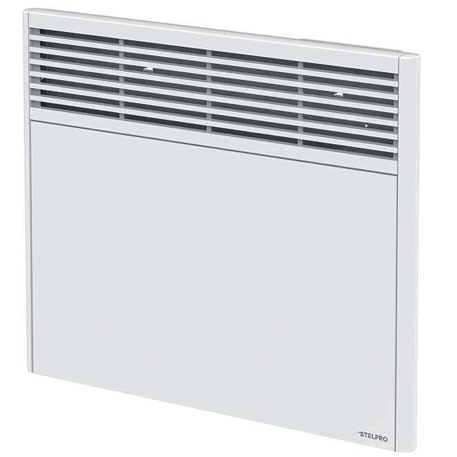Convecteur Orléans avec thermostat, 1 500 W, 29 1/4'', blanc