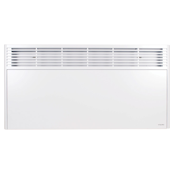 Orleans Convector with Thermostat - 2000 W- 35 1/4'' - White