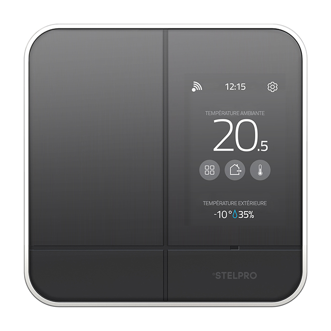 Stelpro Smart Controller Thermostat 4000 W Black