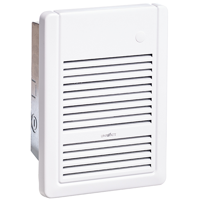 Fan Heater Without Thermostat - 1000 W / 240 V - White