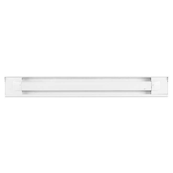 Plinthe chauffante Uniwatt, 1000 W, 240 V, acier, blanc
