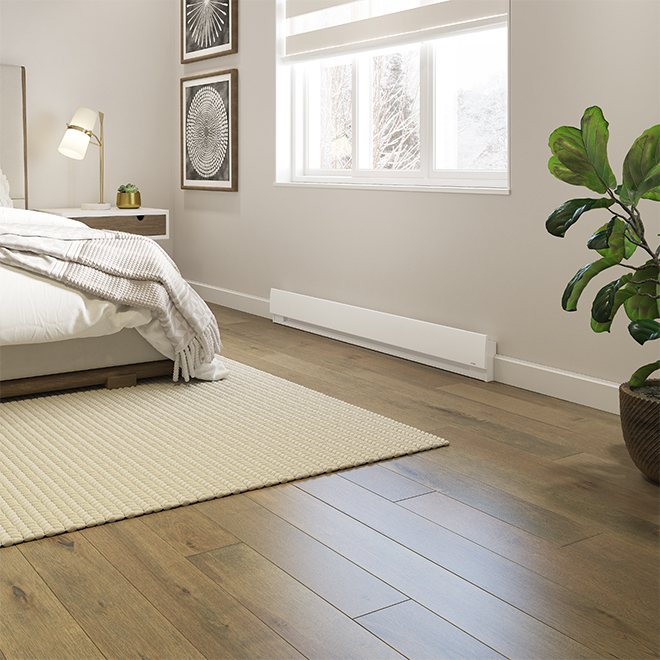 "Stelpro(R) Prima Electric Baseboard - 22 1/4"" - 500 W - White"