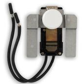 Stelpro Built-in Thermostat Kit - 120-600 V- Plastic - White
