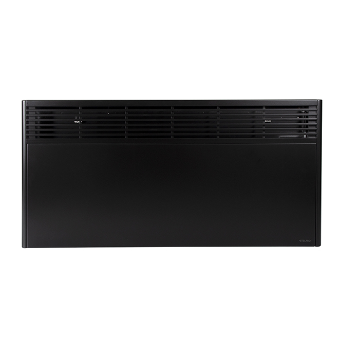 Orleans Convector without Thermostat - 2000 W - Black