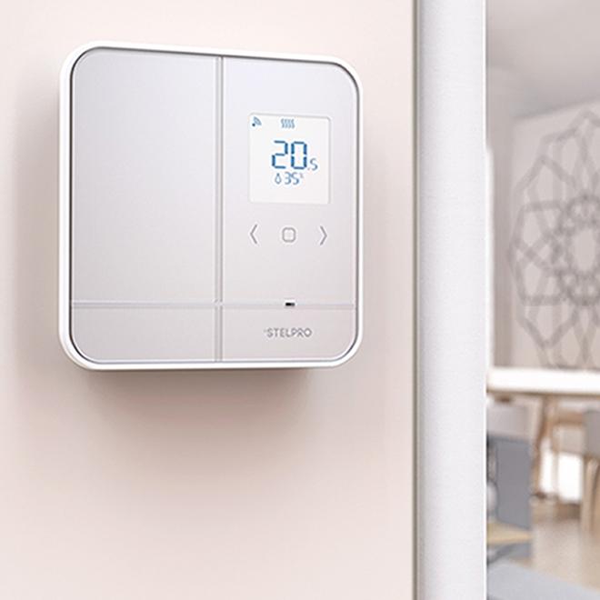 "Thermostat/contrôleur Stelpro Maestro, 6,5"", blanc"