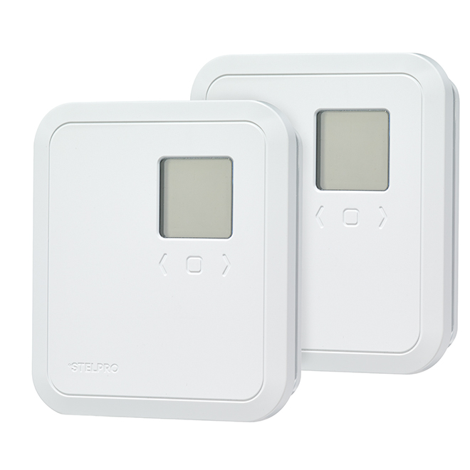 Thermostat non programmable, Mode Eco, 2500 W, 2/pqt
