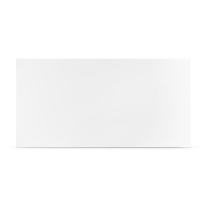 Convecteur électronique Stelpro Mirage sans thermostat, 1500/1125 W, 29,5 po, blanc