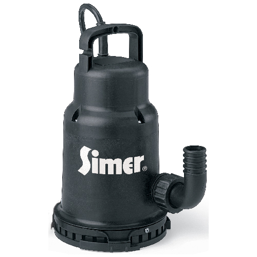 Utility Submersible Thermoplastic Waterfall Pump