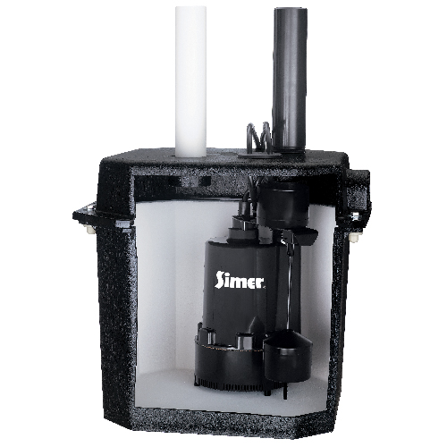 1/4 HP Self-Contained Sump Pump System
