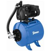 1/2 HP Convertible Deep Well Jet Pump Tank Combination