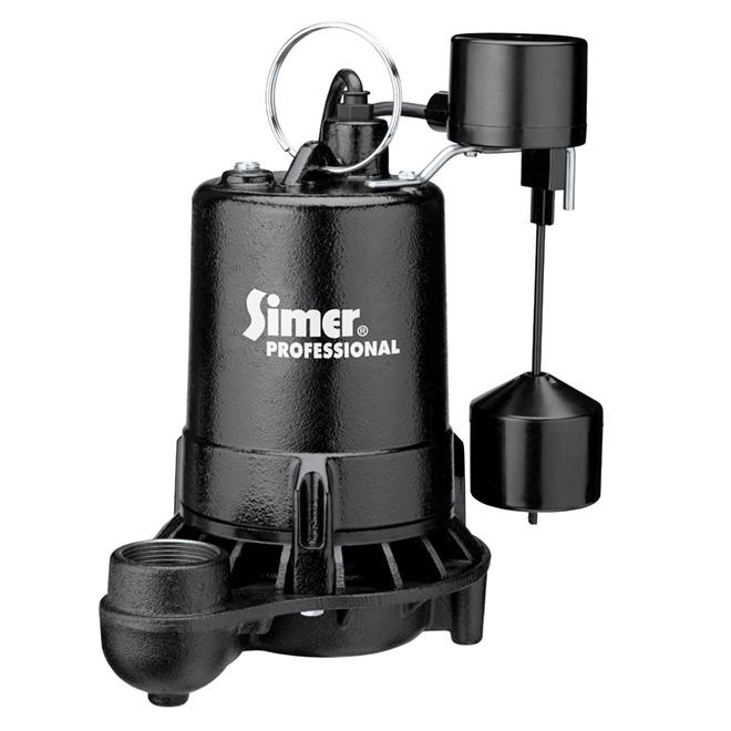 Professional Grade Sump Pump - 1/2 HP