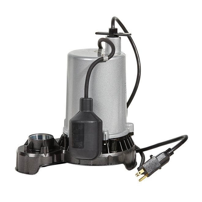 Flotec Submersible Sump Pump - 1/2 HP - 115 V