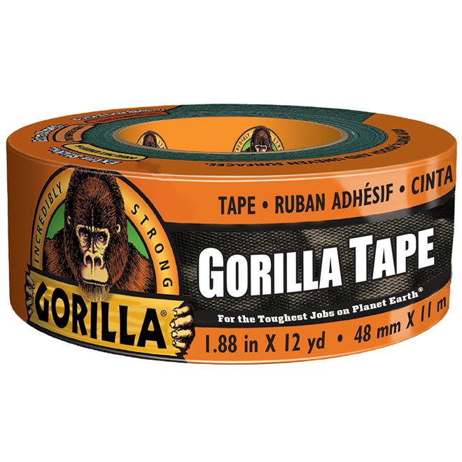 "Adhesive Tape - Tough - 1.8"" x 12yd - Black"