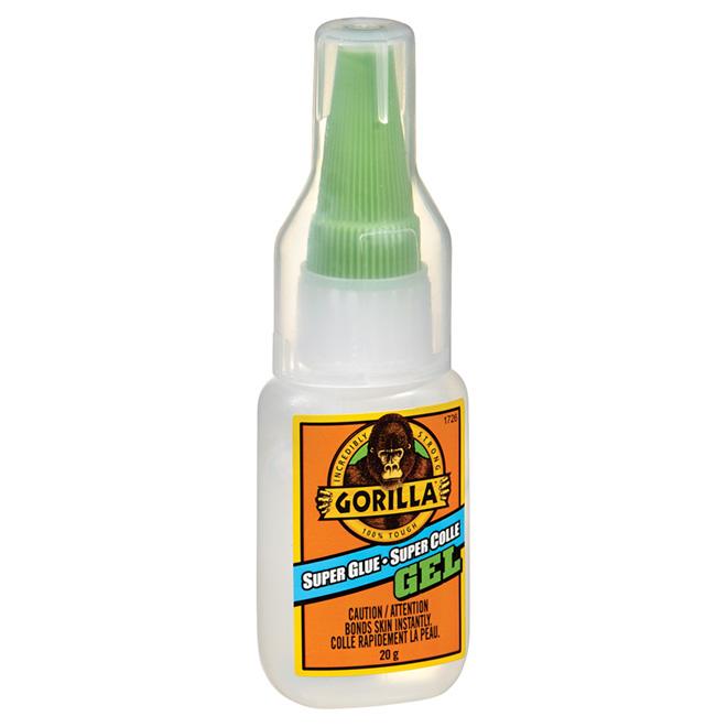 GORILLA GLUE Super Glue - Gel - Clear - 20 g 7710101   RONA