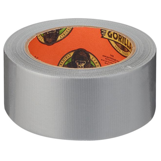 Adhesive Tape - Gorilla® - 12 yd. - Silver