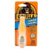 Super colle Gorilla Glue avec brosse et bec, 10 g, transparent