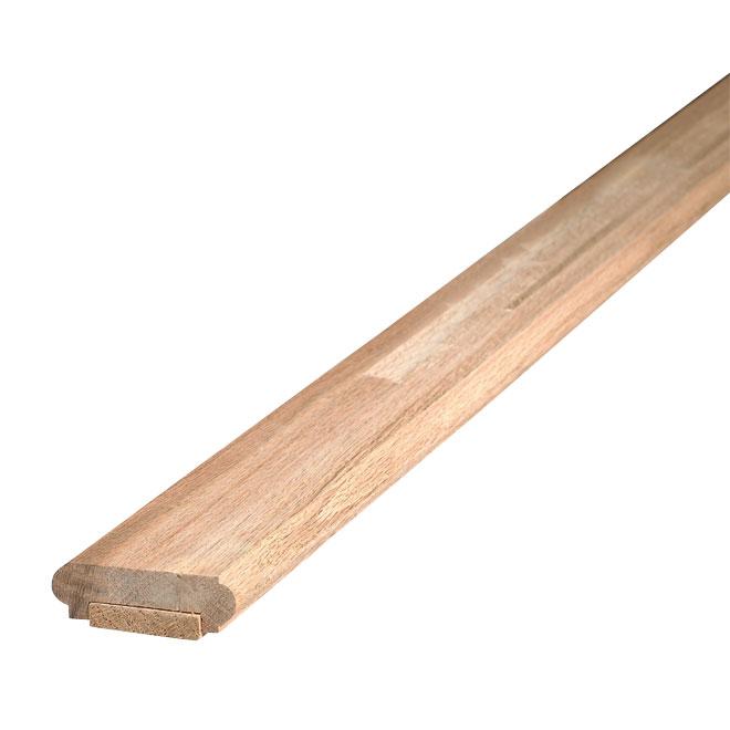 "Oak Shoerail with Fillet - 3/4"" x 2 1/4"" x 8'"